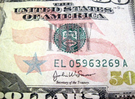 picture of money, IRS scam