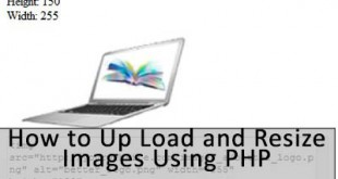 How to Up Load and Resize Images Using PHP