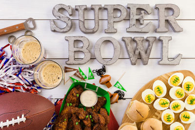 Super Bowl Party Planning