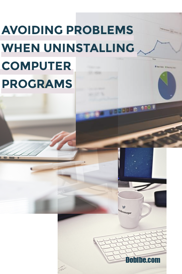 Uninstalling programs helps to speed up your computer and frees disc space.  However, avoiding problems when uninstalling computer programs is essential.