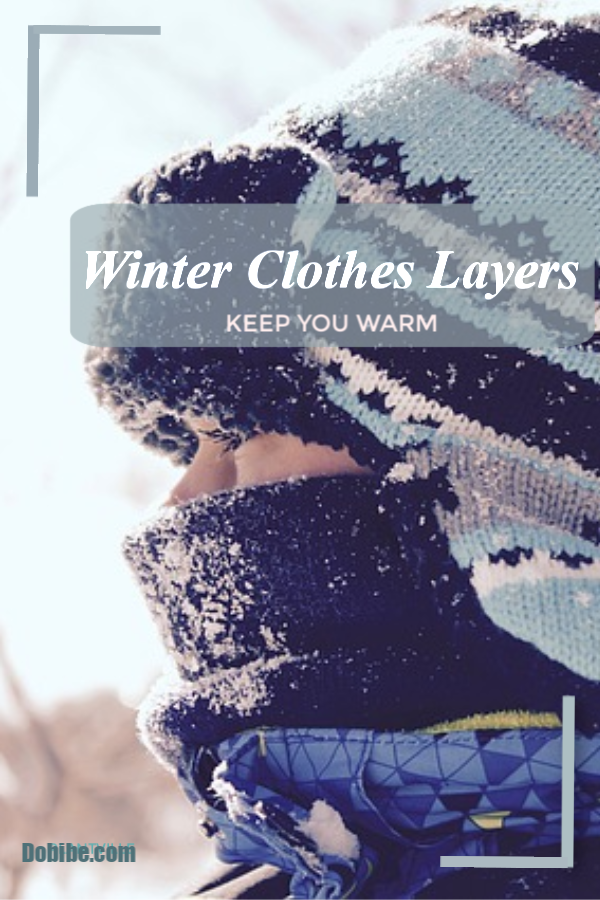 When the temperature drops, the number of clothing layers you wear. needs to increase.  The key is not to have all bulky clothing.