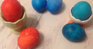 Failed Dyeing Easter Eggs