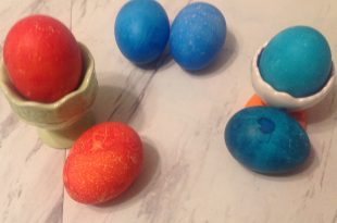 failed at dyeing easter eggs