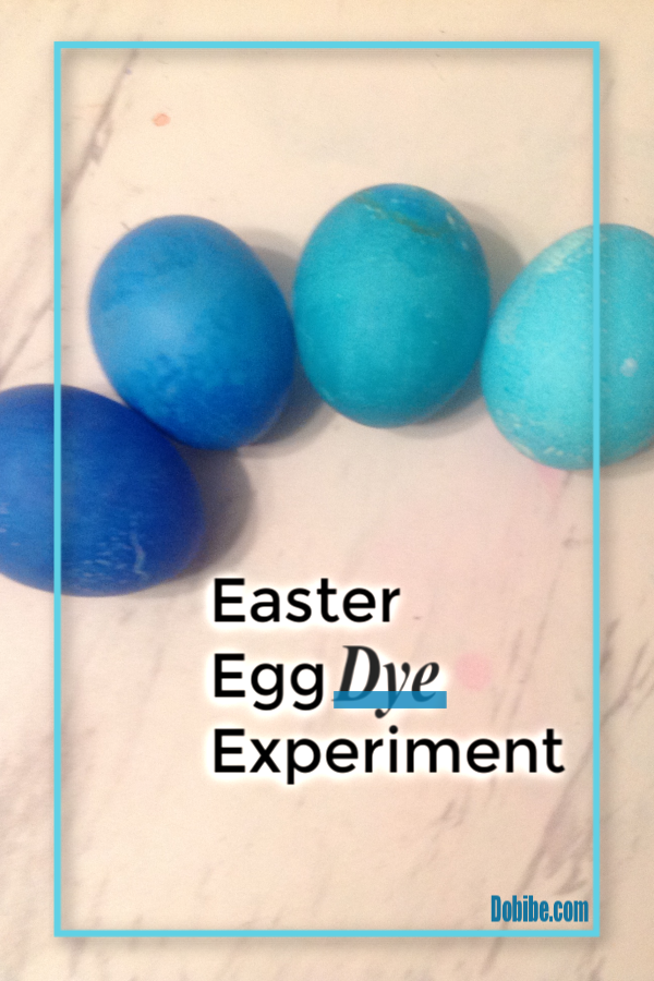 I tried an Easter Egg dye experiment using four different types of dyes-PAAS, liquid food dye, gel icing dye, and Kool-Aid- to see which worked best.