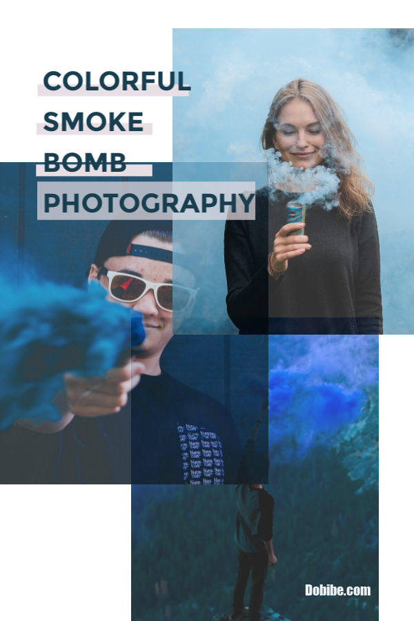 A fast-growing trend is smoke bomb photography. Smoke bombs provide a colorful smoke haze that can highlight photos of such events as weddings, proms, Halloween; and gender reveals.