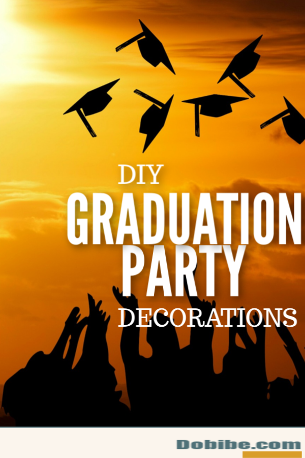 DIY graduation party decor is fun to make, and there are many options to choose from. Pick your theme and colors and start planning from there.