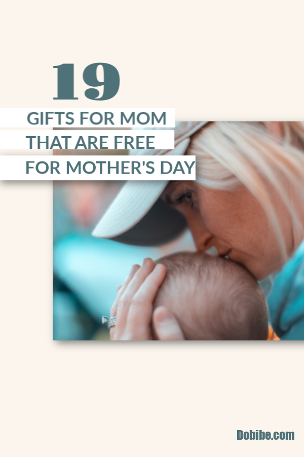 Our list of free (almost) gift ideas for  Mother\'s Day. Gifts that are thoughtful and will be appreciated.