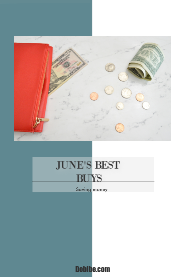June\'s Best Buys include lingerie, movie tickets, dishes and athletic shoes. You will see sales around Father\'s Day and the Fourth of July as well.