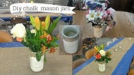 How to make a vintage chalk paint mason jar
